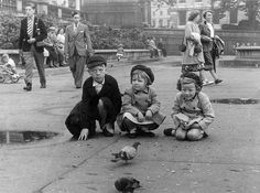 Trafalgar Square, London 1950s