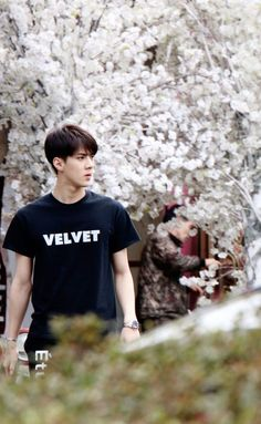 EXO Sehun ... his shirt <333