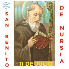 Feliz Día de San Benito de Nursia  11 de Julio 2016. https://instagram.com/p/BHunIVuBOHB/
