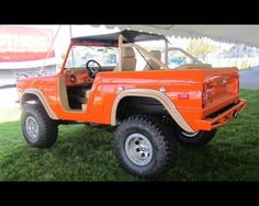 This sharp, newly restored 1970 Ford Bronco has the best of everything.