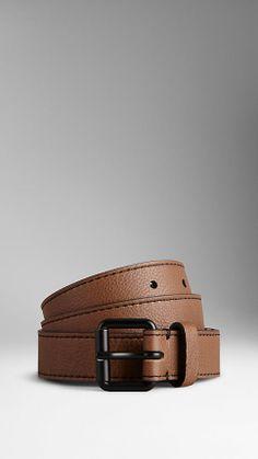 Grainy Leather Belt | Burberry