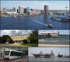 Norfolk, VA - Lived in Norfolk for a year -husband was stationed there in the Navy.