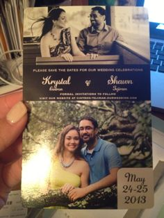 Our Save the Date Magnet from @MagnetStreetWeddings #LoveMSW