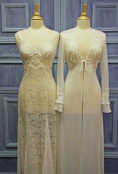 Bridal Pearls of Wisdom: New Bridal Peignoir Lingerie for 2010