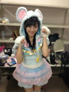 Watanabe Mayu / Mayuyu (AKB48) in nezumi outfit