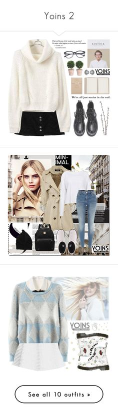 """""""Yoins 2"""" by alexandra-provenzano ❤ liked on Polyvore featuring Barneys New York, Linea, yoins, UGG Australia, River Island, Apriati, Dr. Martens, Mills Floral Company, Forever 21 and Illesteva"""
