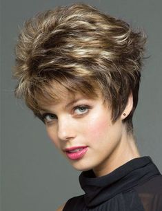Quality HeatResistant synthetic hair women short Wigs Straight pixie cut hairstyle Blonde hair wig with bangs pelucas pelo corto natural with free worldwide shipping on AliExpress Mobile Short Hair With Layers, Short Hair Cuts For Women, Short Hairstyles For Women, Wig Hairstyles, Wedding Hairstyles, Hairstyles 2016, Hairstyle Photos, Teenage Hairstyles, Quick Hairstyles