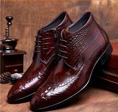 half off 509c2 7e51d ботинки кожи крокодила мужские