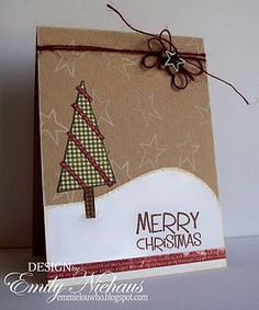 Christmas Tree by The Stamps of Life, via Flickr