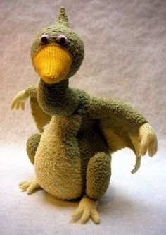 Terry Dactyl pattern by Alan Dart to knit