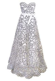Vintage Oscar De La Renta Gown | vintage oscar de la renta gown | Gowns | Pinterest