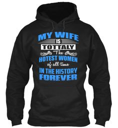 Wife  Forever Black Sweatshirt Front