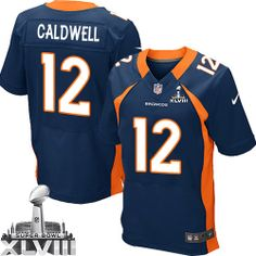 Andre Caldwell Elite Jersey-80%OFF Nike Andre Caldwell Elite Jersey at Broncos Shop. (Elite Nike Men's Andre Caldwell Navy Blue Super Bowl XLVIII Jersey) Denver Broncos Alternate #12 NFL Easy Returns.