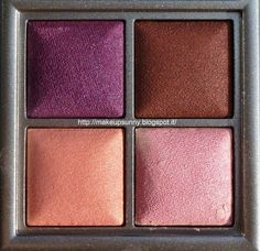 burgundy color palette | Kiko Dashing Holidays - Color Fever Eyeshadow Palette. Palette di ...