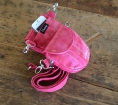 Faux Snake Skin: Hip bag - Waist bag - Cross-Body Handbag