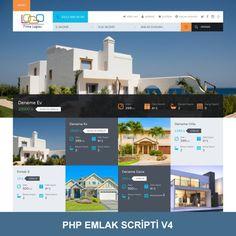 Mobil Uyumlu Hazır Emlak Scripti V4. PHP Emlak Scripti. Php, Desktop Screenshot