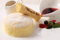 スフレパンケーキセット 宝塚ホテル