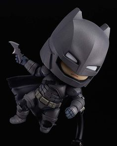 The showdown of the century in Nendoroid size! From the popular movie 'Batman v Superman: Dawn of Justice' comes a Nendoroid of Batman dressed up in his armor. The Nendoroid is a part of the fully articulated 'Edition' series of Nendoroids whi. Batman Vs Superman, Batman Armor, Superman Dawn Of Justice, Chibi Marvel, Marvel Dc, God Of War, Overwatch, Batman Dress, Hades