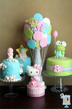 Hello Kitty and Friends Set of Cakes by Sugar High, Inc.