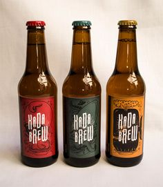 30 Creative Beer Bottle Label & Packaging Designs