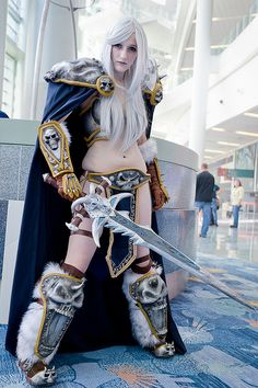 Lady Arthas the Lich (Queen) #cosplay from #Blizzcon 2011