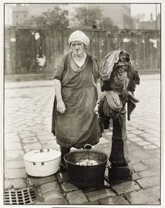 August Sander, 'Washerwoman' c. 1930, printed 1990