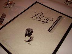 Patsy's Menu Cover by Home Slice Pizza, via Flickr