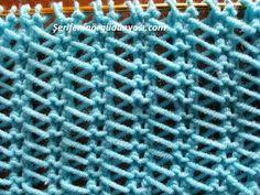 Eltimin Sakın Anlatma Dediği Model - YouTube Lace Knitting, Knitting Stitches, Knitting Patterns Free, Knit Patterns, Stitch Patterns, Knit Crochet, Knitting Videos, Knit Picks, Crochet For Beginners