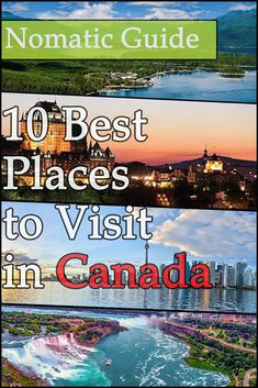10 Best Places to Visit in Canada - NomaticTravel Best Countries To Visit, Largest Countries, Cool Countries, Cool Places To Visit, Canada Canada, Canada Travel, Amazing Destinations, Travel Destinations, Arctic Tundra