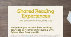 'Smore for families to share about reading experience
