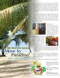 Bob's Cozumel in Mexico!  From corporate America to Paradise! As seen in Connextions Magazine.  Click to read: http://issuu.com/Connextionsmag/docs/issue4ma/35