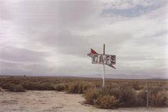 Untitled, California desert by William Eggleston