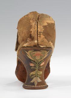Date: 1690–1710 Culture: European Medium: leather, silkShoes   European   The Metropolitan Museum of Art