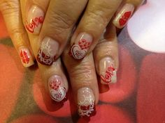 Cute Valentine's Day manicures