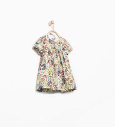 ZARA - NIÑOS - Vestido estampado flores