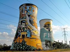 Soweto colourfull towers