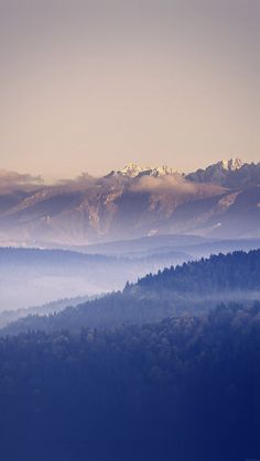Mountain Peace Blue Sky Nature iPhone 6 wallpaper