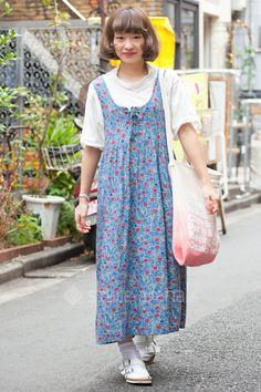 Ayako Yoshii | WEGO Kastane チチカカ BIRKENSTOCK 靴下屋 American Apparel  | 2nd week  Sep. 2015 | Harajuku | TOKYO STREET STYLE | TOKYO STREET FASHION NEWS | style-arena.jp
