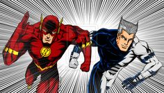 Flash VS Quicksilver by NaGaSaNe.deviantart.com on @deviantART