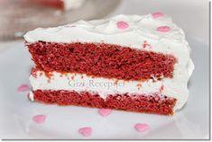 Gizi-receptjei. Várok mindenkit.: Vörös bársony torta mascarponekrémmel. Vanilla Cake, Food, Essen, Meals, Yemek, Eten