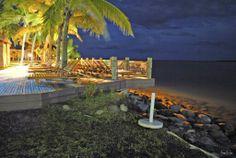 Night photography Fiji - Sheraton Villas Fiji