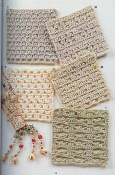 262 Patrones de crochet Charted patterns for crochet... now if I only knew how to read a charted pattern. LOL