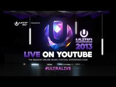 ULTRA MUSIC FESTIVAL 2013 Available for fans all over the world.   Watch the livestream and live the magic from your living room as if you were actually there. LIVE here on Ultra's official YouTube channel UMF TV.    Show times weekend 1  ----------------  Fri   15-03   16:00 -- 00:00 (EST)        21:00 - 05:00 (GMT)  Sat  16-03   16:00 -- 00:00 (EST)...