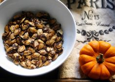 Roasted Pumpkin Seeds — Suzanne Spiegoski