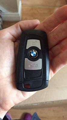 This BMW key was found on 12th October in Bromborough, Allport, Wirral. Please get in contact if you believe you are the owner.