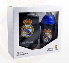 Zestaw śniadaniowy #Real_Madryt to wyśmienity produkt dla każdego fana piłki nożnej. #supermisiopl