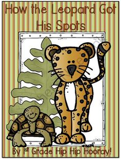How the Leopard Got His Spots...Journeys 1st Grade...Practice and Enrichment from 1st Grade Hip Hip Hooray on TeachersNotebook.com -  (90 pages)  - From a fable to making a connection with the rainforest.