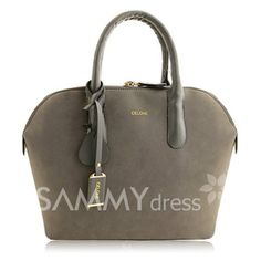 $18.78 Office Women's Tote Bag With Splice and Rivets Design