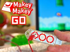Makey Makey GO: Invent Everywhere, Invent Now! Tech is going Bananas! Slip'n Selfie, Dog-o-Phone, Flappy Jello. Invent on the GO!