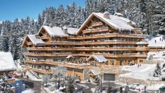 Don't even try to resist to this fantastic new collection of luxury apartments in Meribel Village - the view is absolutely breathtaking - the landscape is impressive #Maybe you should go back on your decision for your winter holiday and swap a standard one with this unusual place #You still have time before Christmas - and we promise to really blow you away!